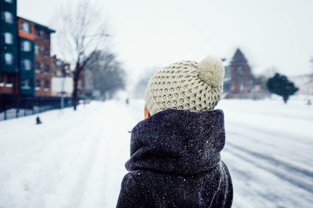 gorro para el invierno