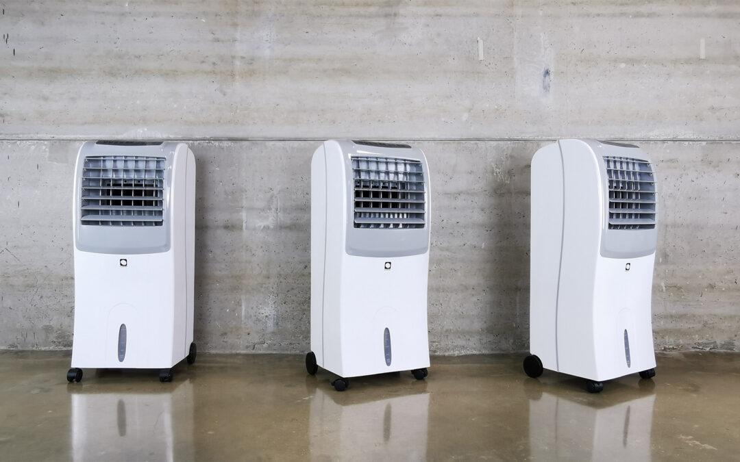 Limpia tu climatizador evaporativo en 4 pasos