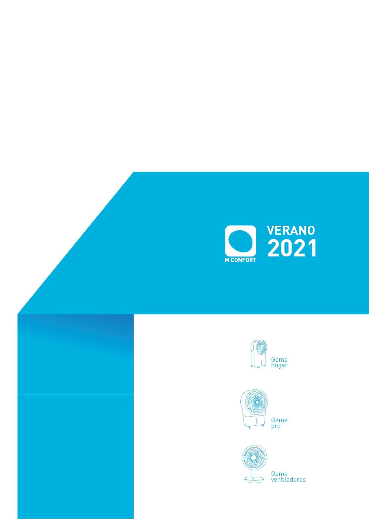 PORTADA CATÁLOGO VERANO 2021 MCONFORT