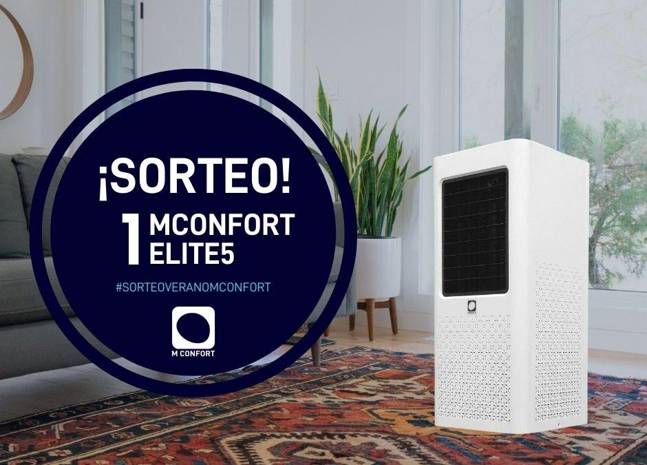 ¡Sorteo! Gana un climatizador evaporativo portátil MCONFORT Elite5