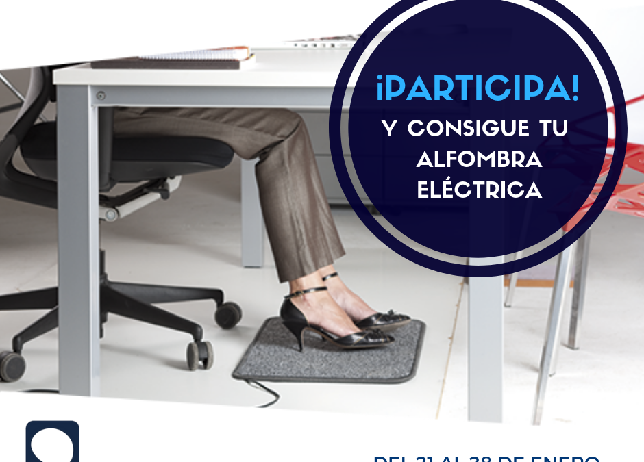 Sorteo alfombra calefactora M CONFORT: Disfruta del confort estés donde estés