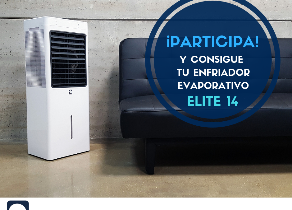 Sorteo de verano de un enfriador evaporativo MCONFORT Elite14