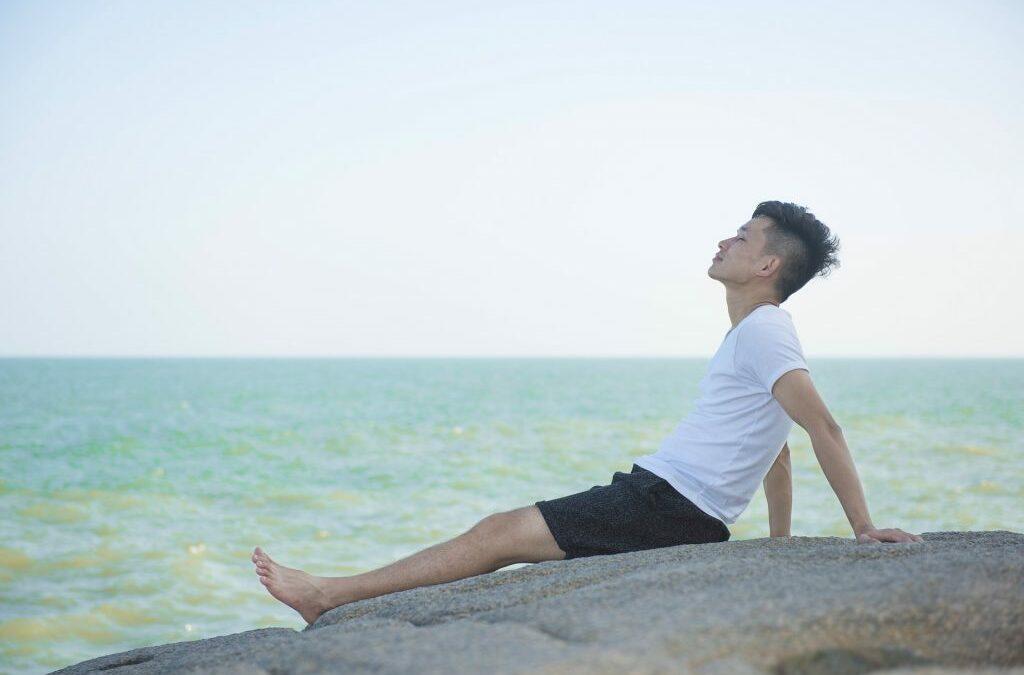 Lo mejor para refrescarse…la brisa del mar!
